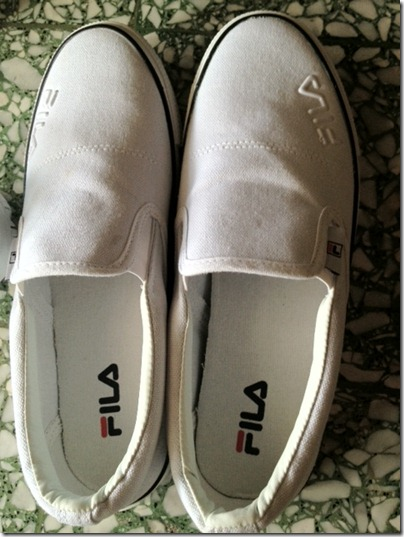 Fila White Canvas