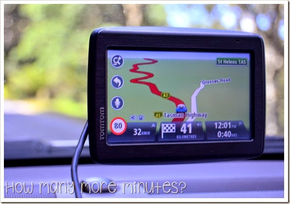 How Many More Minutes? ~ These Windy Roads in Tassie