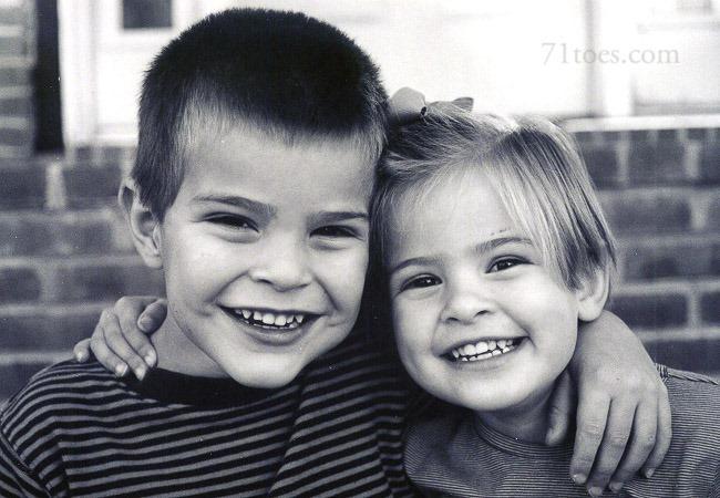 Max & Elle b&w