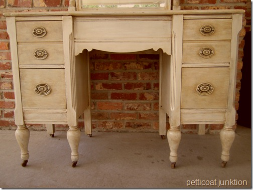 how to antique furniture before and after