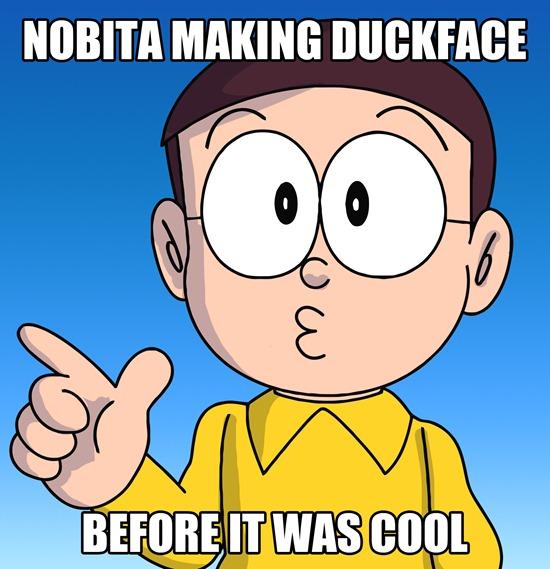 Nobita Duckface