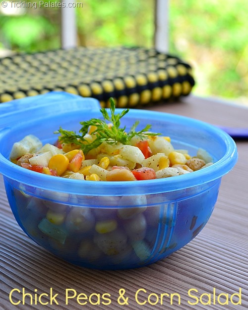 Chickpea Corn Salad Recipe