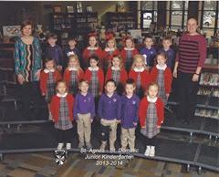 Helen Grace St Agnes 2013-2014 Class