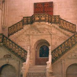 27.- Diego de Siloé. Escalera Dorada de la Catedral de Burgos