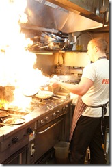 Sous chef Angus at Fratelli Fresh