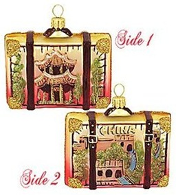 china-suitcase ornament
