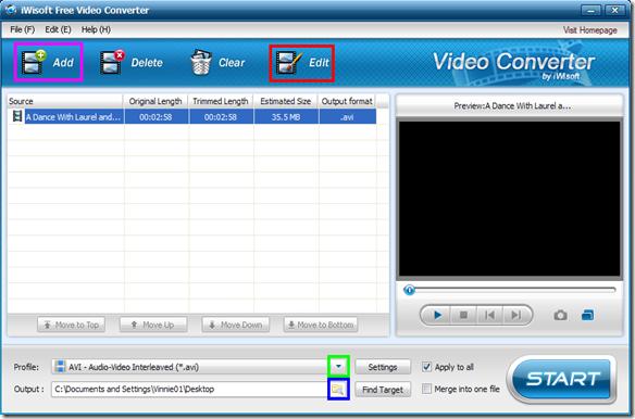 iWisoft Free Video Converter