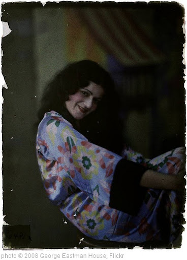 'Woman in floral silk robe' photo (c) 2008, George Eastman House - license: http://www.flickr.com/commons/usage/