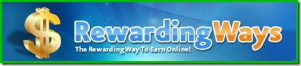 Rewarding Ways - Várias formas de ser recompensado!