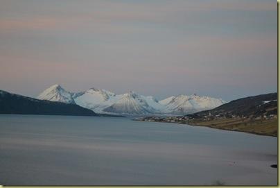 Mountains near ferry
