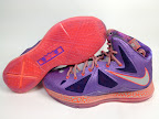 nike lebron 10 gr allstar galaxy 6 05 Release Reminder: Nike LeBron X All Star Limited Edition