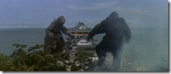 King Kong vs Godzilla Castle Fight