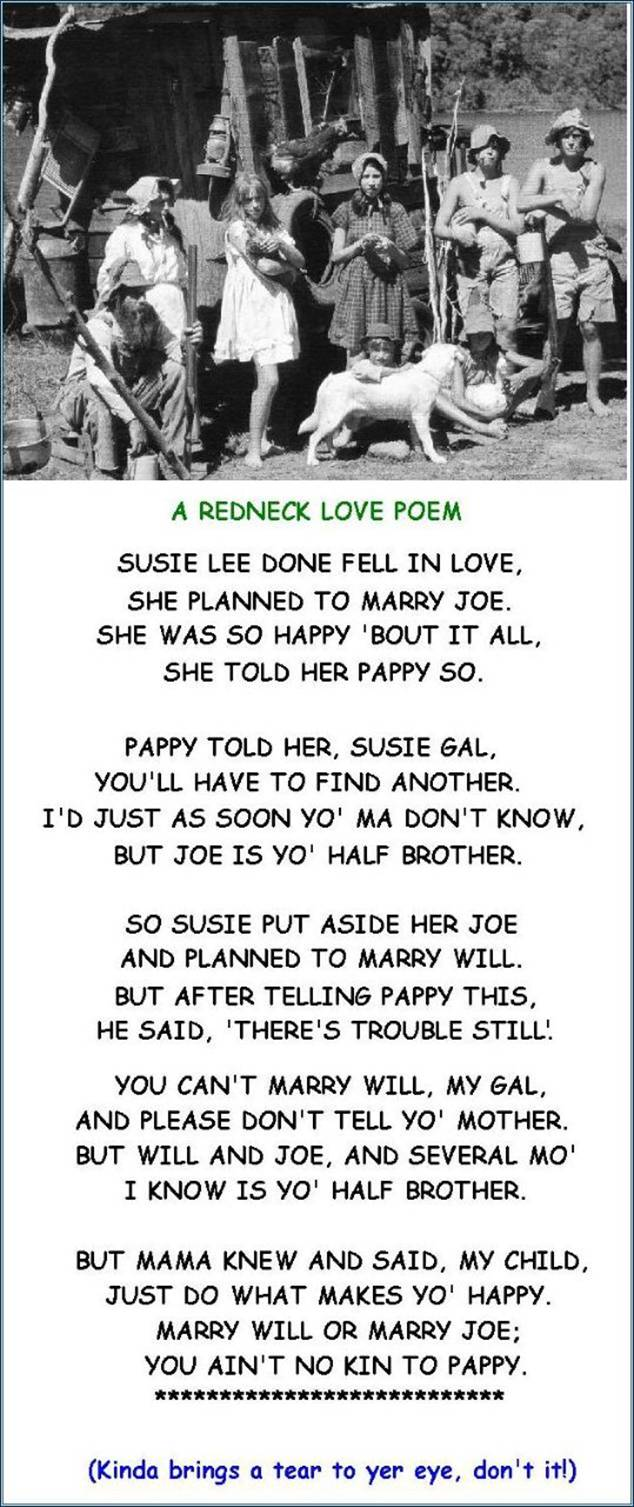 Susie Lee done fell in love