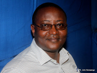 François Nzekuye, cadre du PPRD. Radio Okapi/ Ph. John Bompengo