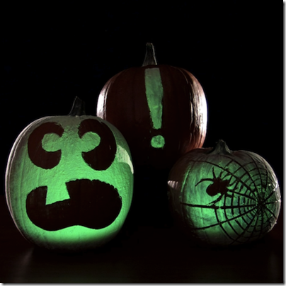 Glowing Pumpkins: Halloween Science #scienceisfun #homeschool #education