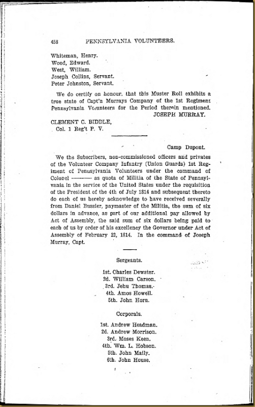 Fredk M Irwin Series 6, Volume VIII Page 458