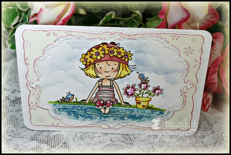 Quiet Inspiration, Sassy Cheryl's Stamps, Flower Soft, Kool Tak