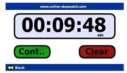 10 Minute Craft Dash Stop Watch