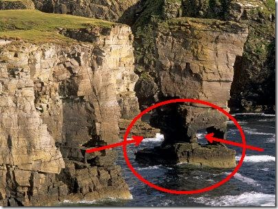 dieudonne-patrick-yesnaby-castle-sea-stack-rock-eroded-by-the-sea-mainland-orkney-i2slands-scotland-uk