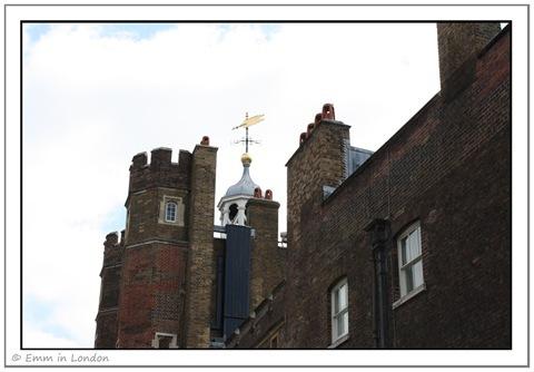St James's Palace Weather Vane
