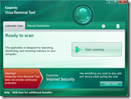 Eliminare virus da PC infetto con Kaspersky Virus Removal Tool 2011 gratis