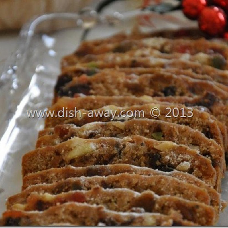 Christmas Cake with a Middle Eastern Twist Recipe