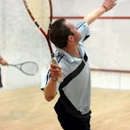 Gavin Lee Perrett in action against Will Newnham