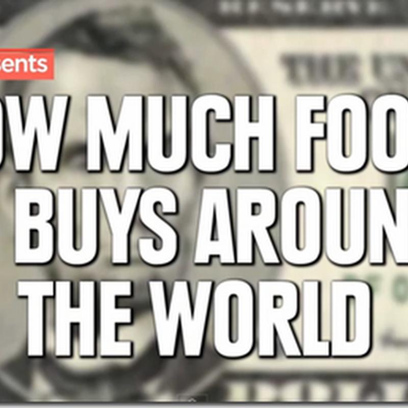Câte  alimente putem cumpara cu 5 dolari în diferite ţări din lume - Video