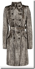 Karen Millen Signature Faux Pony Coat