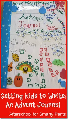 Encouraging Young Writers: A DIY Advent Journal
