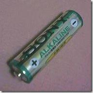 Sony alkaline