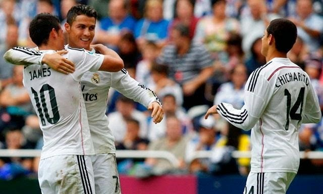 Deportivo La Coruña 2-8 Real Madrid