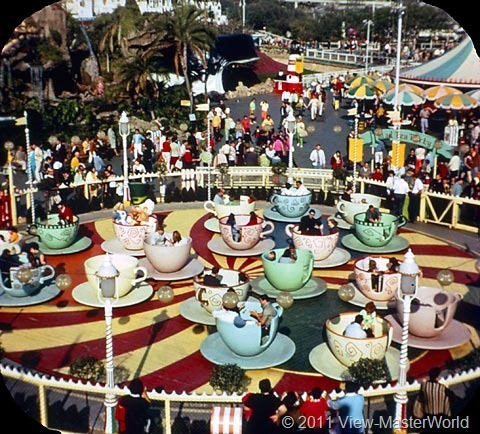 View-Master Fantasyland (A178), Scene 1-7: Mad Tea Party Ride