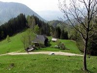 Pastirska koča na planini Planinca