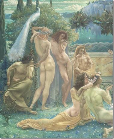 Jean Delville - L'Ecole de Platon