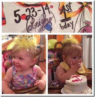 Leigha Turns One
