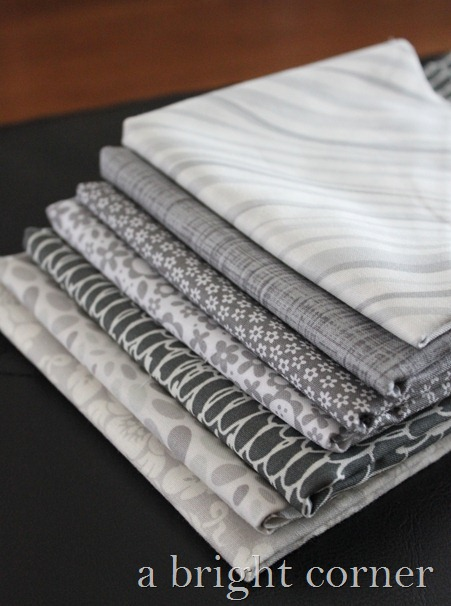 gray fabric stack