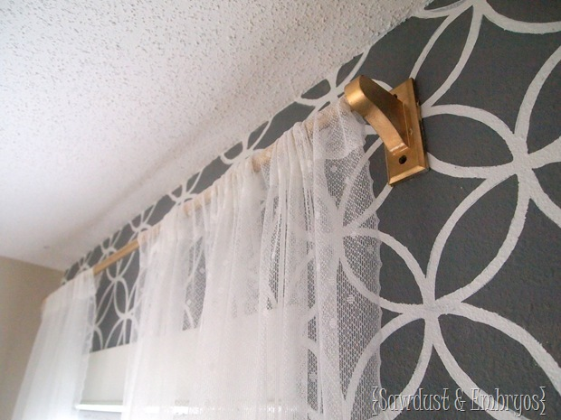 DIY Towel Rack Curtain Rod (8)