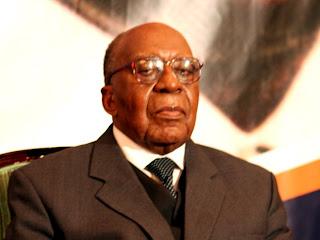 Antoine Gizenga, secrétaire général du Parti Lumumbiste Unifié (Palu).