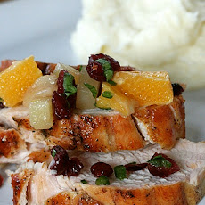 Grilled Turkey Breast with Fruit Salsa