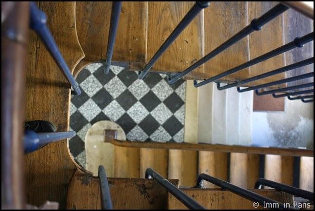 Stairwell in St Germain-en-Laye