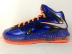 nike lebron 10 ps elite blue black 3 04 Release Reminder: Nike LeBron X P.S. Elite Superhero