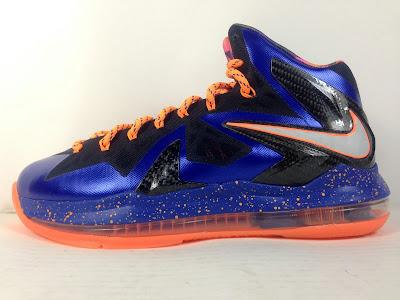 Nike LeBron ST 2 Hyper Blue Black Orange