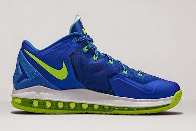nike lebron 11 low gr sprite hyper cobalt 1 04 Release Reminder: Nike Max LeBron XI Low Sprite