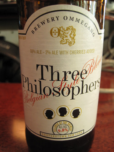 From Ommegang, New York this Belgium-style beer worked well with nut brittle.
