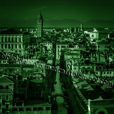 Visión nocturna en fotografía con Photoshop - Resultado final