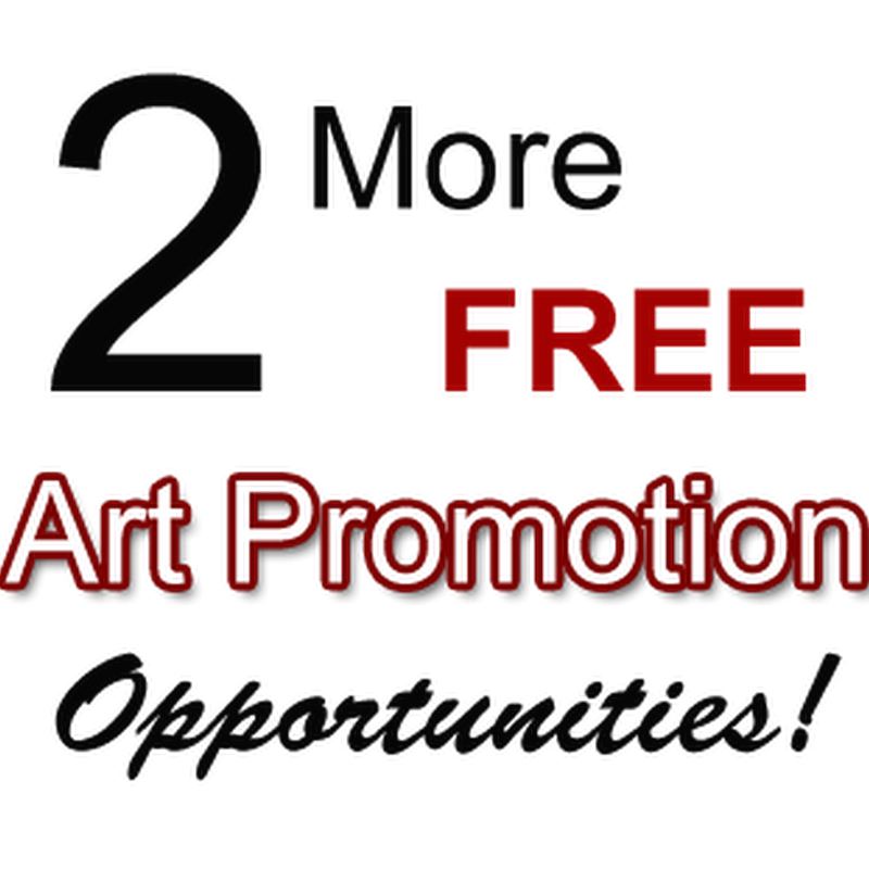 Two More FREE Art Promotion Opportunities for Artists