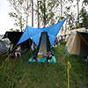 Our tent, Woodford Folk Festival