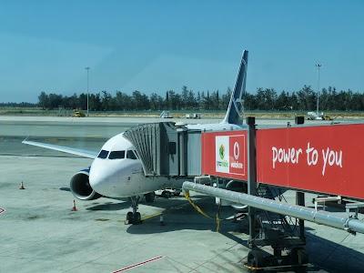 Tarom pe aeroportul din Larnaca
