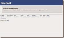 Facebook in tilt